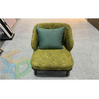 Hotel Reception Fabric Solid Wood Pillow Coffee Chair Manufactures