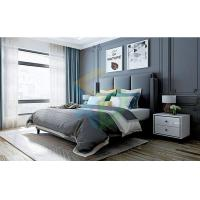 Advanced Gray Skeleton Leather Bed Manufactures