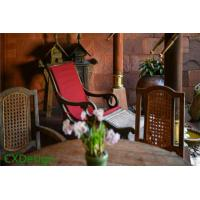 Buy cheap Waterproof Wooden Glazed Armchair from wholesalers