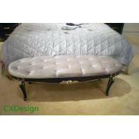 Buy cheap Hotel Suite Fabric Upholstered Bedroom Bench from wholesalers