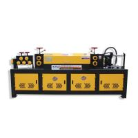 Buy cheap Automatic Steel Bar Straightening And Cutting Machine from wholesalers