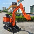 Quality 1000kg Hydraulic Mini Excavator With Competitive Prices for sale
