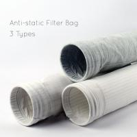 Polyester oil&water repellent and anti-static filter bag Manufactures