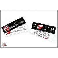China Decals/Promotional Password:JDM Bumper Stickers on sale