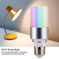 E27 E14 B22 Base APP Remote Control WIFI Dimmable Smart Light Bulb Lamp Work Manufactures