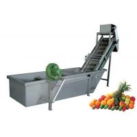 China Vegetable & Fruit Automatic Air Bubble Washing Machine on sale