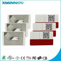 NFC anti fake self destructive adhesive label Manufactures