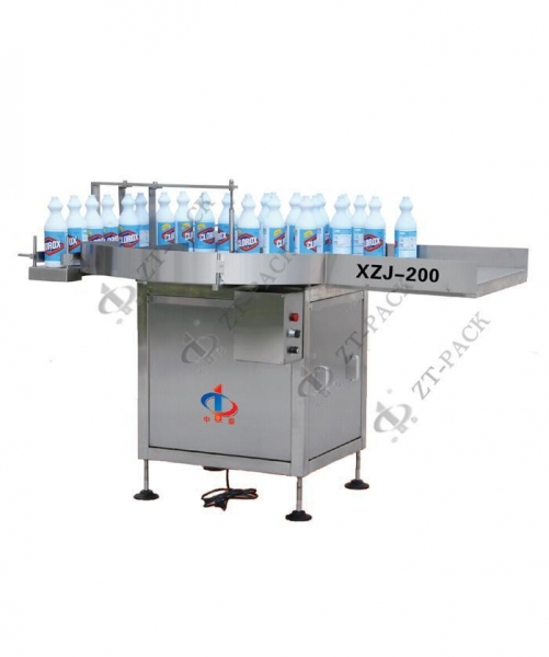 Quality Chemical Packing Line XZJ-200 Automatic rotary bottle-infeeder for sale
