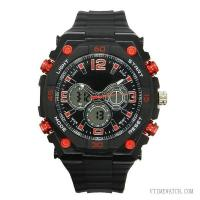 Buy cheap VT-AD1363 Mens Dual Time LCD Sport Watch from wholesalers