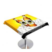 Reverse Printed Vinyl PVC Table Cloth Manufactures