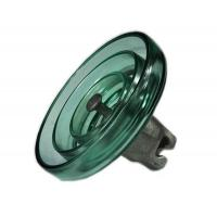 China Electrics D.C-Type Toughened Glass Suspension Insulators Glass Insulator on sale