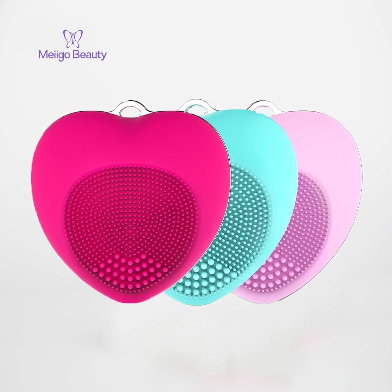 Buy cheap Facial cleansing brush mini silicone sonic face massager BR-002 from wholesalers