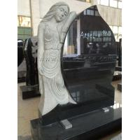 Buy cheap Angel Hearts Granite Memorial Plaques from wholesalers