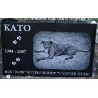 Buy cheap Custom Pet Memorial with Flat Arrowhead Plaque from wholesalers