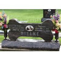 Buy cheap Dog Graves Pets Headstone Engraving from wholesalers