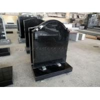 Black Granite Cremation Gravestone for Sale Manufactures