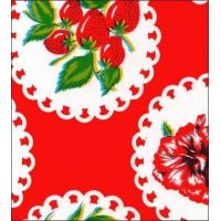Doily 2 Red Oilcloth Manufactures