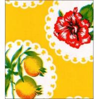 Doily 2 Yellow Oilcloth Manufactures