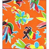Buy cheap Animal Wonderland Orange Oilcloth from wholesalers
