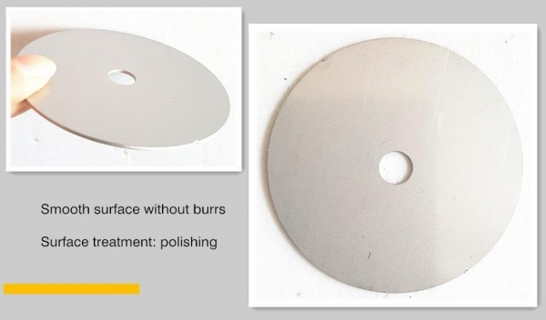 Quality stainless steel round washer 65mm for sale