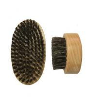 China Custom special handy round wooden wire brush on sale