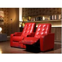 Red Cinema Recliner Chairs Manufactures