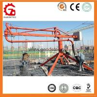 Buy cheap Concrete pouring Equipment Concrete Placing Boom from wholesalers