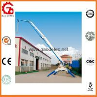 Buy cheap Placing Radius 17m Mobile Hydraulic Concrete Placing Machine from wholesalers