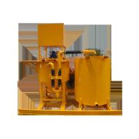 Quality Diesel Grouting Mixer and Agitator to Singapore for sale