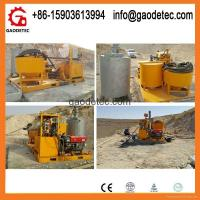 Quality Grout mixer pump with factory price to Qatar for sale