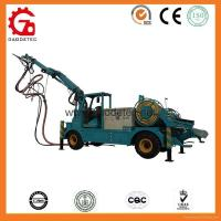 Buy cheap HSC-2515 tunnel telescopic boom shotcreter concrete spraying manipulator from wholesalers