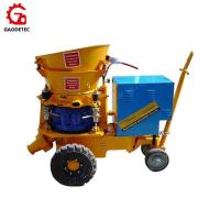 Buy cheap GZ-5 output 5m3/h with electric motor shotcrete machine from wholesalers