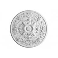 Buy cheap Gypsum Material Big Ceiling Rose For Chandelier Decoration from wholesalers