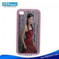 Sublimation Blank Bling Phone Case for iphone4 Manufactures