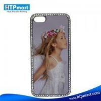 Sublimation Blank Bling Phone Case for iphone5 Manufactures