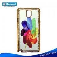 Sublimation Blank Bling Phone Case for Sumsung Note3 Manufactures