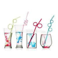 Buy cheap PVC Loop Straws Assorted Colors from wholesalers