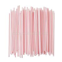 Buy cheap Individually Paper Wrapped Plastic Milkstraws C... from wholesalers