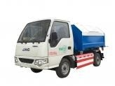 Quality Garbage Truck Electric Hook Loader Truck JAC for sale