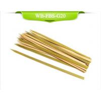 Buy cheap Green Flat Bamboo Skewer from wholesalers