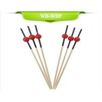 Buy cheap Small Red Ball Bamboo Picks from wholesalers