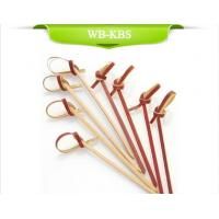 Buy cheap Red Knotted Bamboo Skewer from wholesalers