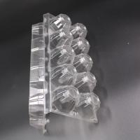 Buy cheap disposable quail egg tray plastic from wholesalers