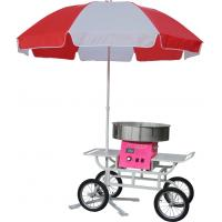 China Digital Professional cotton candy machine with cart and umbrella ON-CC2 & ON-CC2C on sale