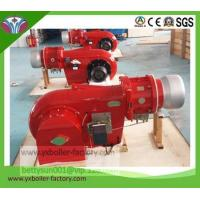 Compact design two-stage fire gradual variable operation light oil burner for boiler Manufactures