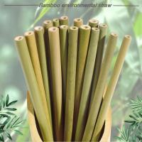 Buy cheap Bamboo drinking straw from wholesalers