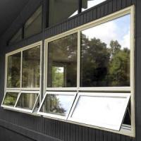 aluminum windows replacement push out awning windowfactory sale Manufactures