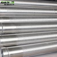 Perforated Metal Oil Well Steel Pipes Manufactures