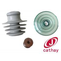 ANSI glass insulator for AC systems Manufactures