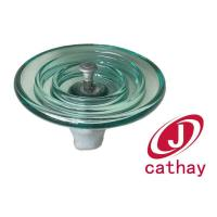 Quality Aerodynamic disk suspension type glass insulator for sale